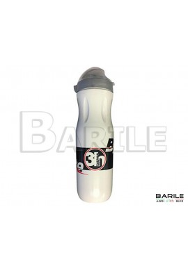 Borraccia Termica Bianco Bici MTB - Mountain Bike 500 ml Cappuccio Antipolvere