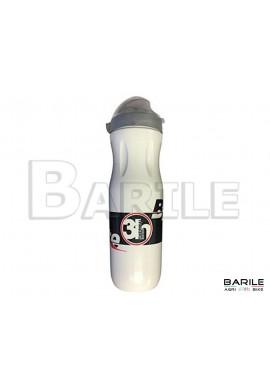 Borraccia Termica Bianco Bici Varie 500 ml Cappuccio Antipolvere - Leggera