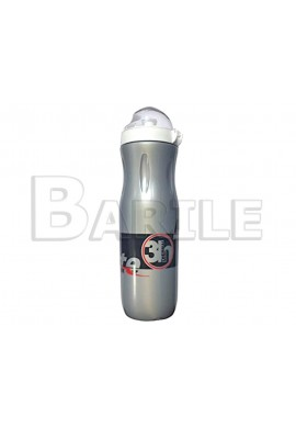 Borraccia Termica Grigio Bici MTB - Mountain Bike 500 ml Cappuccio Antipolvere