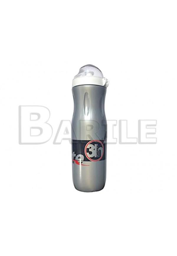 Borraccia Termica Grigio Bici Varie 500 ml Cappuccio Antipolvere - Leggera