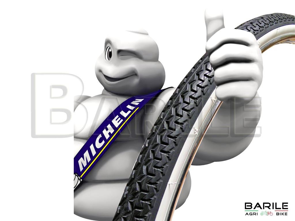 copertura 26x1 3//8 world tour bianco//nero MICHELIN bici city bike