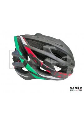 Casco Bici Adulto ATALA SPORT SPRINT Tricolore Italia Leggero Taglia L (58 - 61)