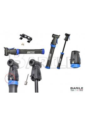 Gonfiatore / Pompa Mini Bici MTB / City Bike + Ago Per Gonfiaggio Pallone BETO