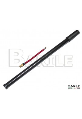 Gonfiatore / Pompa al Telaio 390 / 420 mm + Raccordo Flessibile Bici