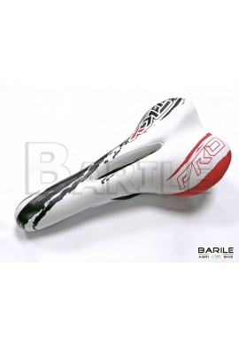 Sella Bici MTB - Mountain Bike - City Bike - EBike Bianco / Rosso / Nero TKX PRO
