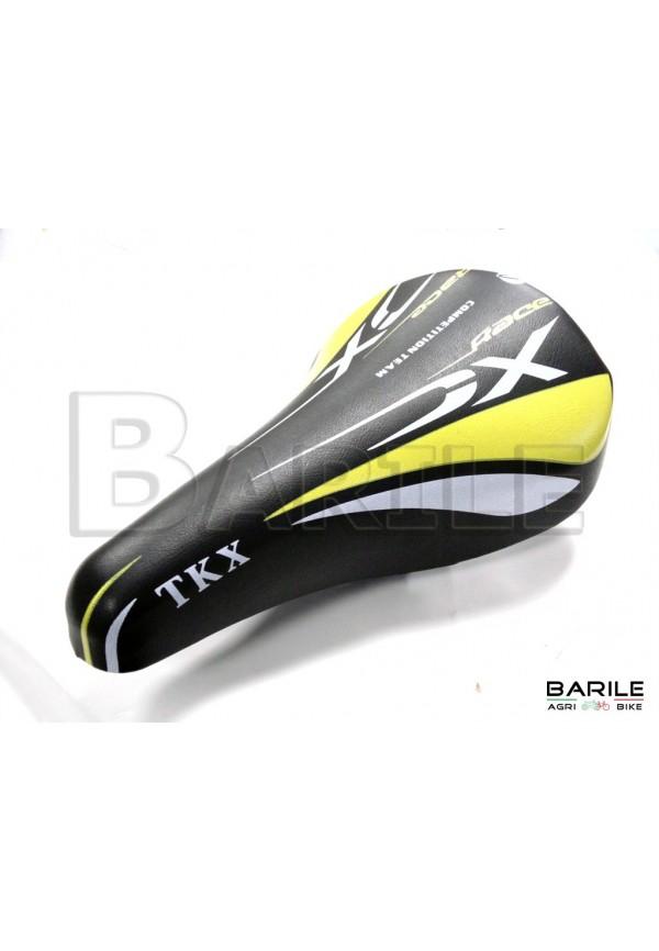 Sella Bici MTB - Mountain Bike - BMX - Bimbo / Bambino Nero / Giallo / Bianco