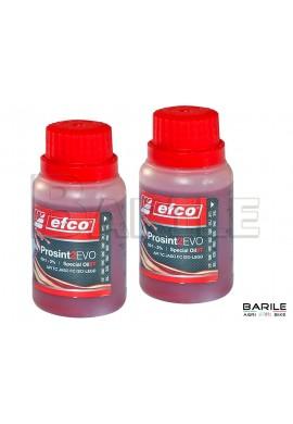 N°2 Flacone Olio EFCO PROSINT 2 EVO Miscela Motore 2 Tempi Sintetico 100 ml