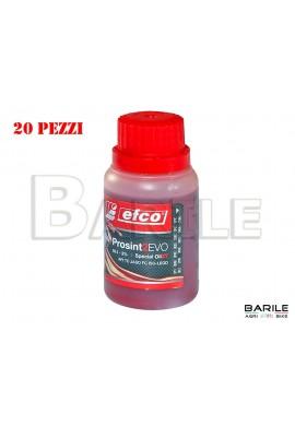 N°20 Flacone Olio EFCO PROSINT 2 EVO Miscela Motore 2 Tempi Sintetico 100 ml