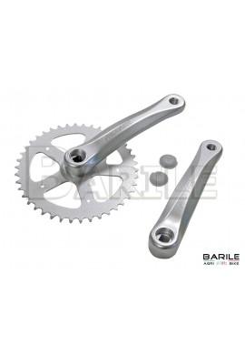 Guarnitura / Corona + Braccio Pedivella 42 x 170 Bici Olanda - City Alluminio